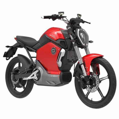 TS1200R Electric Motorcycle Red