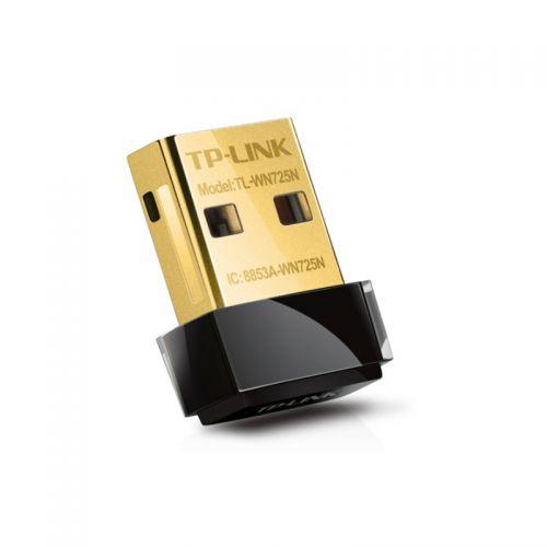 TL-WN725N Wi-Fi USB Adapter Nano 150Mbps, USB 2.0, 1x interna antena