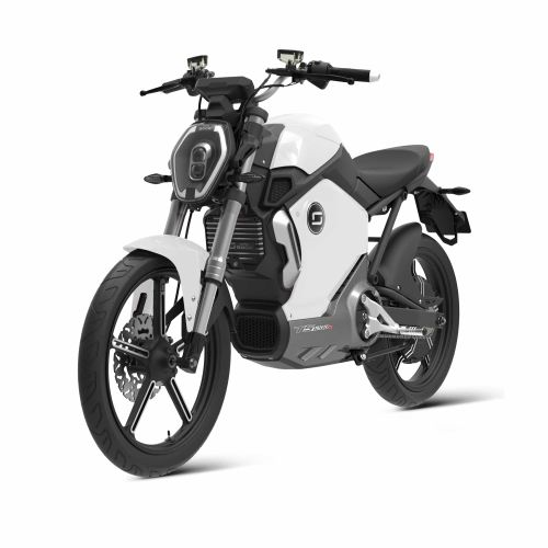 TS1200R Electric Motorcycle White