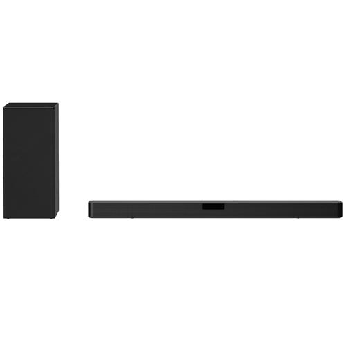 Soundbar, 400W, 2.1ch, DTS Virtual:X, Hi-Res Audio, Wireless Sub, HDMI in/out, Optical, Rear Speaker