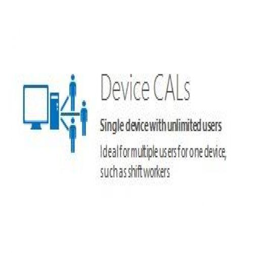 R18-05206 Windows Server CAL 2016 English 1pk DSP OEI 5 Clt Device CAL