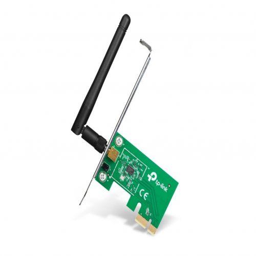 TL-WN781ND TP-LINK PCI Express Adapter Wi-Fi TL-WN781ND 150Mbps, Qualcomm, 2.4GHz, 802.11b/g/n, 1x a